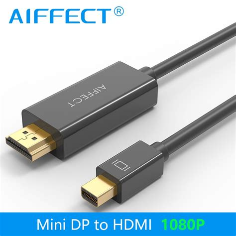 Mini Dp To Hdmi by Aiffect Mini Dp To Hdmi Cable Displayport Thunderbolt