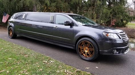 you can buy this subaru tribeca limo right now the