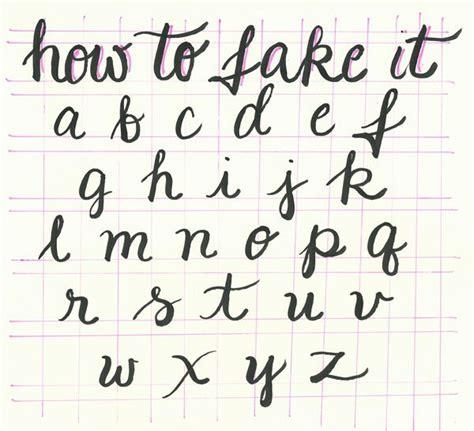 How To Fake Great Handwriting  Free Printable At Breezycheetahpopcom  Typography Pinterest