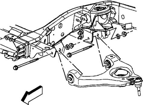 Hhr Drivetrain Diagram by Repair Guides Front Suspension Lower Arms