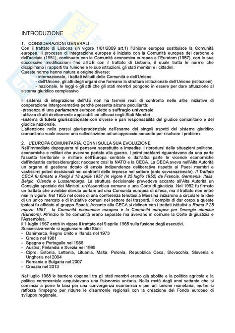 trattato di maastricht testo riassunto esame diritto testo consigliato diritto dell