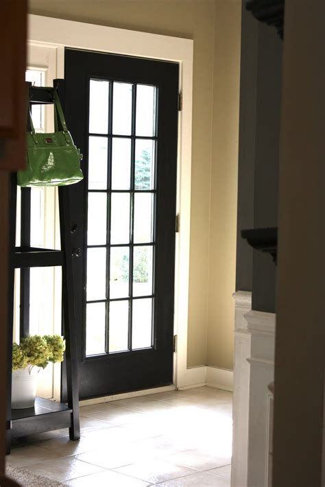 yellow cape  tutorial     custom front door    window