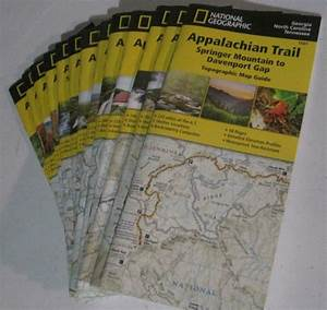 Appalachian Trail Guides Topo Maps National Geographic