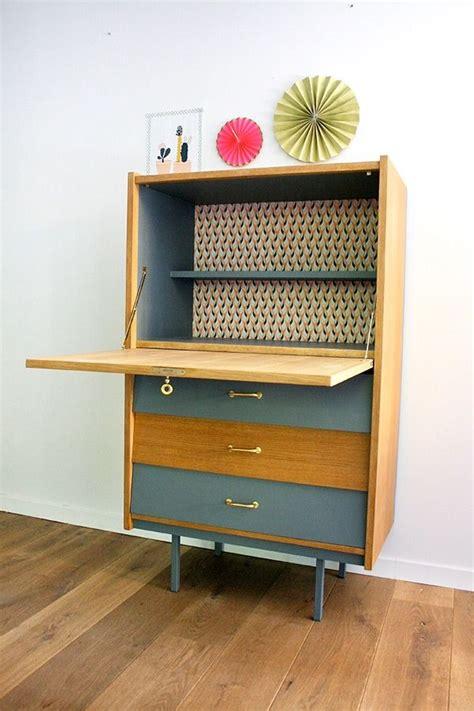 bureau secr aire meuble les 25 meilleures idées de la catégorie secretaire vintage