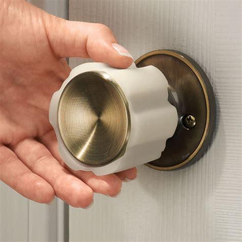 Rubber Door Knob Covers   Door Knob Gripper   Easy Comforts
