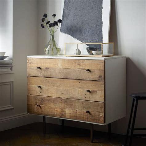 west elm dresser reclaimed wood lacquer 3 drawer dresser west elm