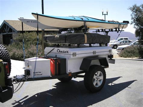 jeep kayak trailer mounting kayaks on an at chaser expedition portal