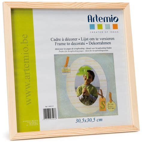 beistelltisch 30 x 30 cadre photo en bois format photo et scrapbooking 30 x 30 cm cadre photo 224 d 233 corer creavea