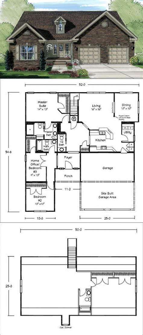 Galley Kitchen Floor Plans by This Floor Plan Has A Great Galley Style Kitchen