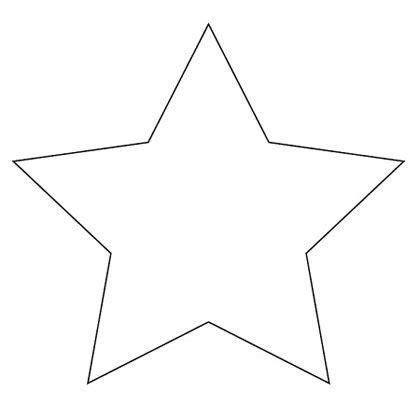 Printable Star Shape Patterns