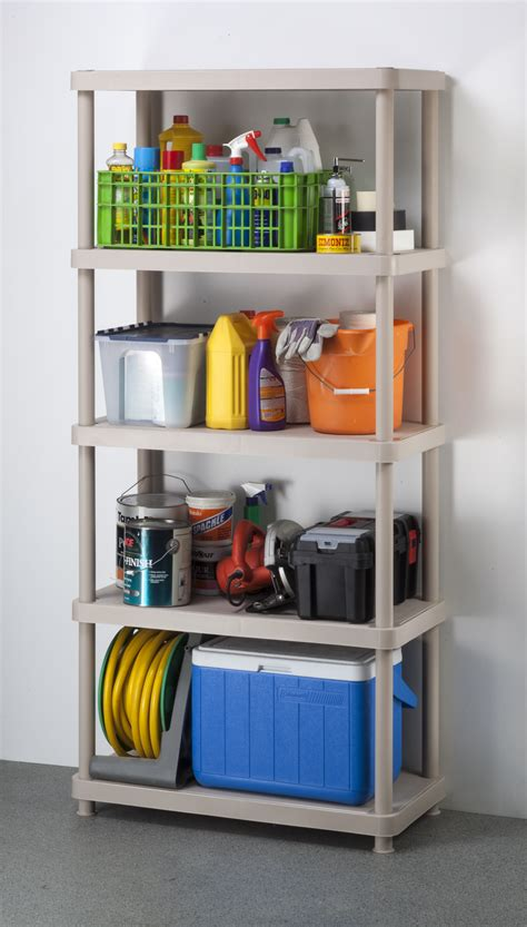 keter shelves for sheds keter 16inch 5 tier shelf unit keter tools garage