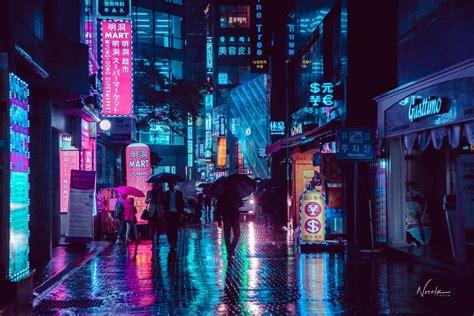 neon noir noe alonzo photographs  ugly side  seoul