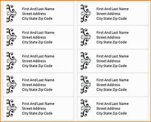 3 free address label templates divorce document With address label dimensions