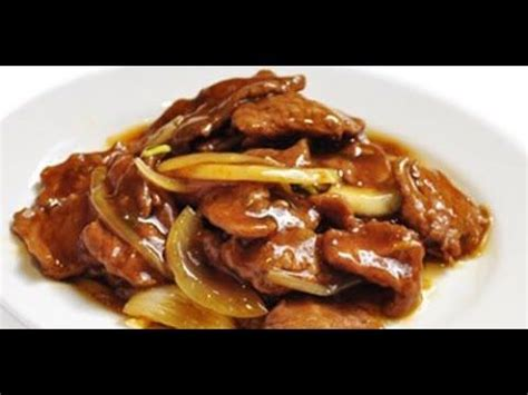 hervé cuisine chinois recette chinoise boeuf sauté aux oignons avec hervé