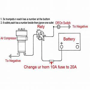 Boat Air Horn Wiring Diagram