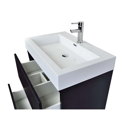 contemporary bathroom vanity black tn ly bk