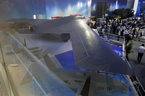 China Unveils Stealth Drone for First Time at Zhuhai ...