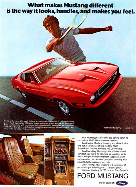 pony car madness  classic mustang ads  daily drive