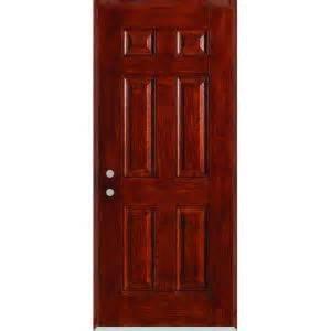 Stanley Doors 36 inx 80 inInfinity 6 Panel Stained
