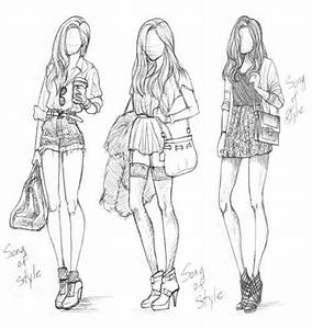 To Draw Is Everything  Fashion Drawings