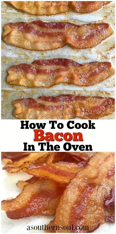 how to cook bacon in oven how to cook bacon in the oven a southern soul