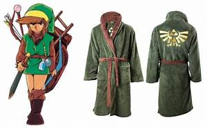 legend of zelda robe is perfect for relaxing after you With robe zelda