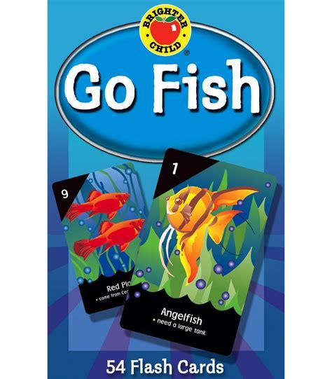 go fish go fish card game grade pk 2 carson dellosa publishing