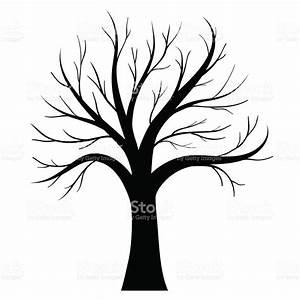 Bare Tree Silhouette Clip Art – Cliparts