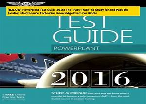 B O O K  Powerplant Test Guide 2016  The Fast