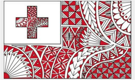 tongan flag polynesian art tongan culture tongan tattoo