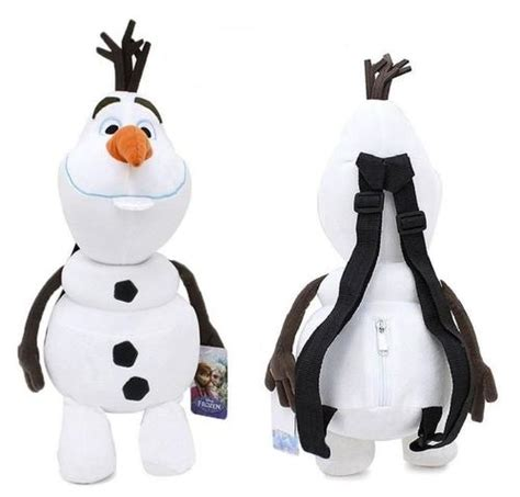 crayola froze disney frozen olaf 17 quot plush backpack frozen tv