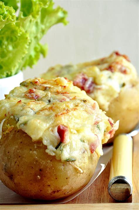 cuisiner des pommes de terre pommes de terre au four gratinées au comté recette