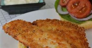 Hot Eats and Cool Reads: Easy Fried Fish Sandwich Recipe