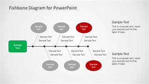 Simple Fishbone Diagram For Powerpoint