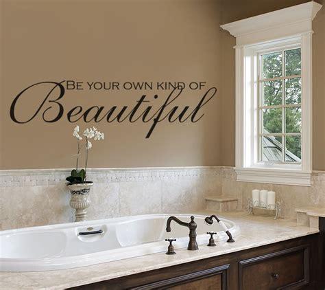 bathroom wall decals    kind  beautiful
