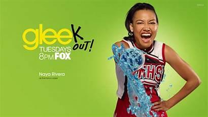 Santana Lopez Glee Naya Rivera Wallpapers Tv