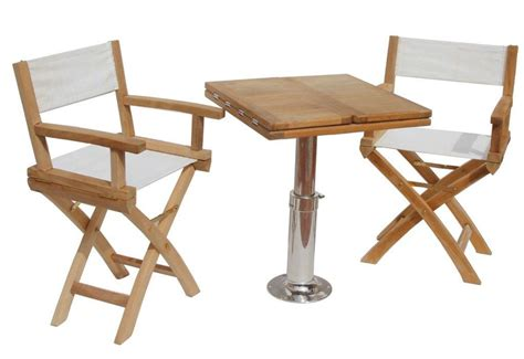 teak boat chairs with 600 215 600 folding table true