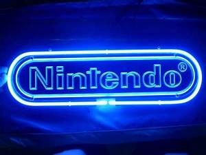 Nintendo Logo Beer Bar Pub Store Neon Light Sign 329