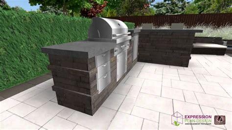 construire une cuisine cuisine exterieure beton charmant cuisine exterieure
