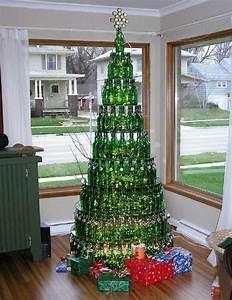 Basteln Mit Glasflaschen : tannenbaum basteln 30 kreative diy ideen f r ~ Watch28wear.com Haus und Dekorationen
