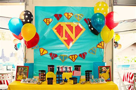 Kara's Party Ideas Superhero Birthday Partymy Little Love