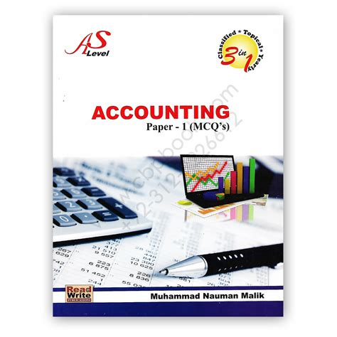 AS Level Accounting Paper 1 MCQs 2018 (Art#111) By M ...