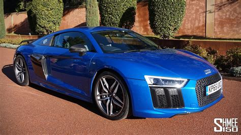 My First Drive In The New Audi R8 V10 Plus [shmee's