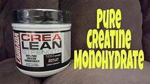 Crealean Strength 100  Creatine Monohydrate Supplement Review