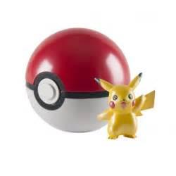pokemon 20th anniversary pikachu figure with pokeball