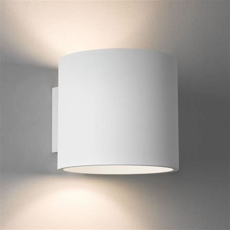 astro lighting 7261 brenta wall light in white plaster