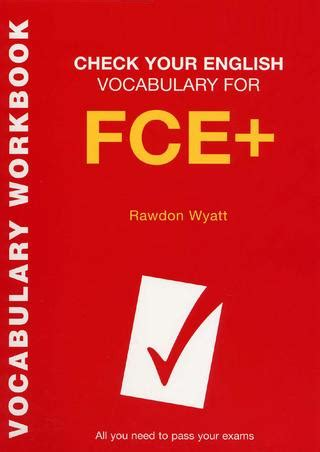 english vocabulary  fce     pass  exams