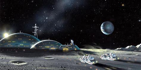 colony   moon  real future  fantasies