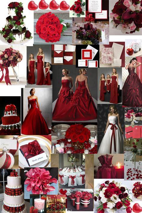winter wedding theme burgundy