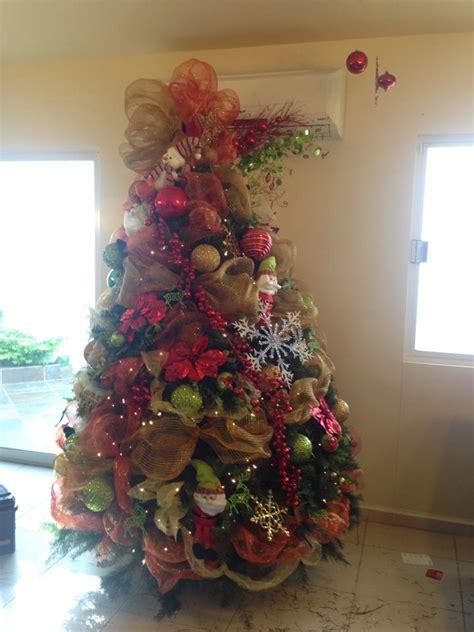 arboles de navidad decorados decoracion de interiores